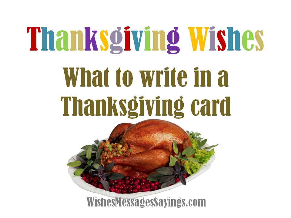 Thanksgiving Wishes Quotes And Prayers