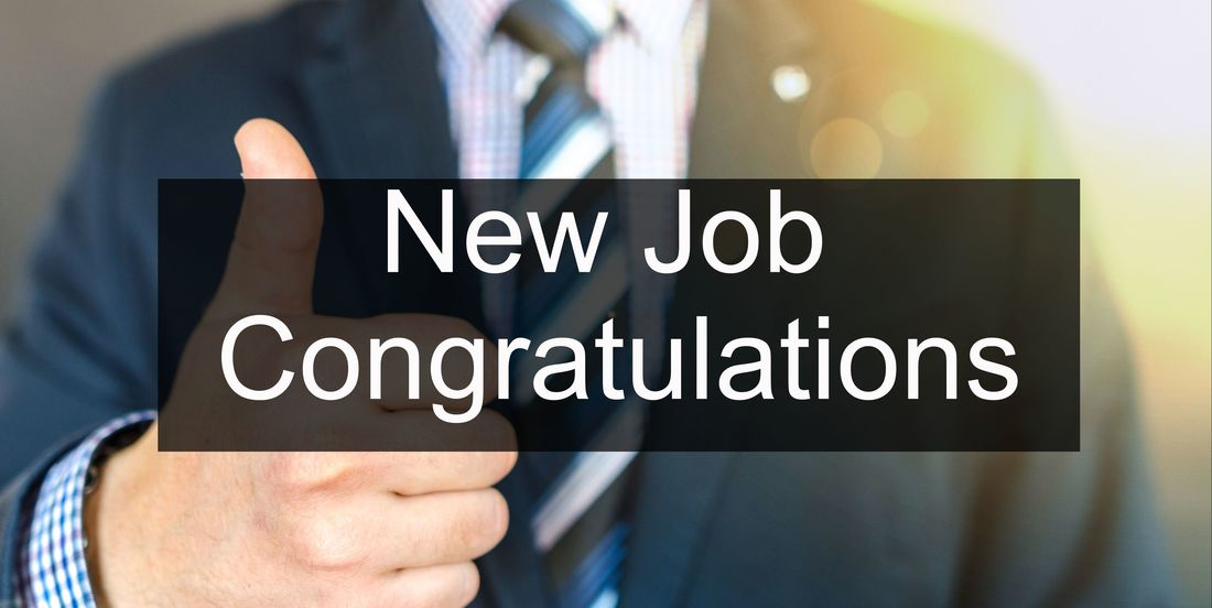 New Job Congratulations Messages