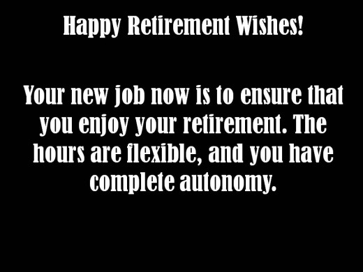 Retirement messages wishes messages sayings picture m4hsunfo