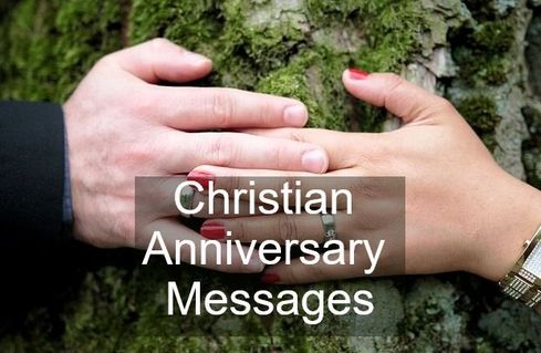 Christian Anniversary Card Messages - Wishes Messages Sayings