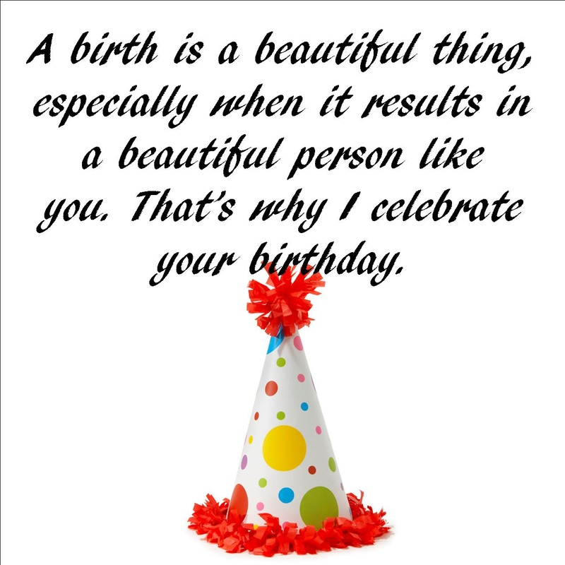 Birthday Wishes And Sayings
