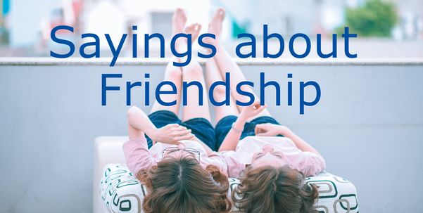 Friend Quotes and Sayings