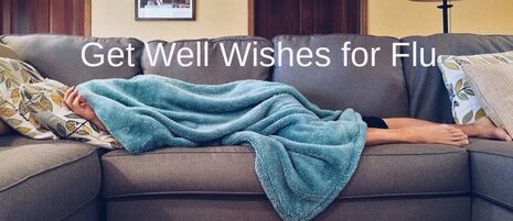 Get Well Wishes for Influenza