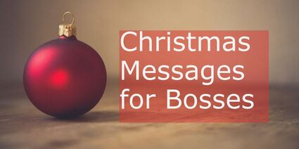 Christmas Wishes for Bosses