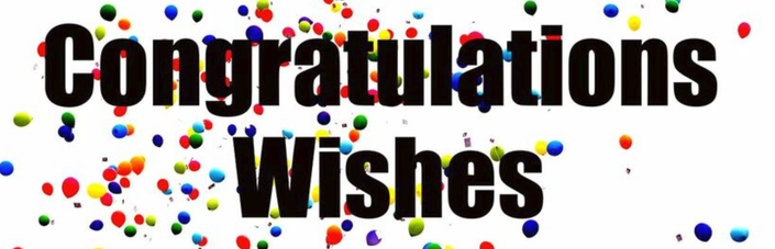 Congratulations Wishes!