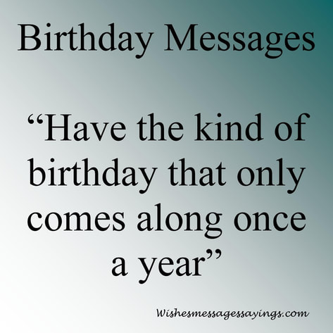 ironic birthday message