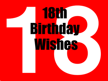 18th Birthday Messages Wishes And Sayings For 18th Birthday Card