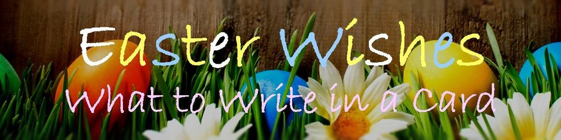 Easter card messages wishes messages sayings what to write in an easter card m4hsunfo