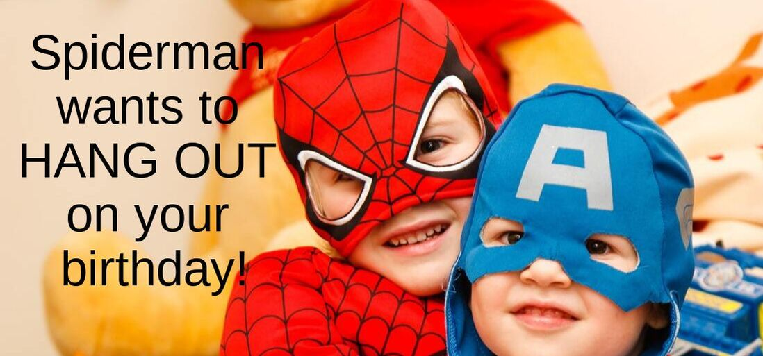 Spiderman Birthday Message