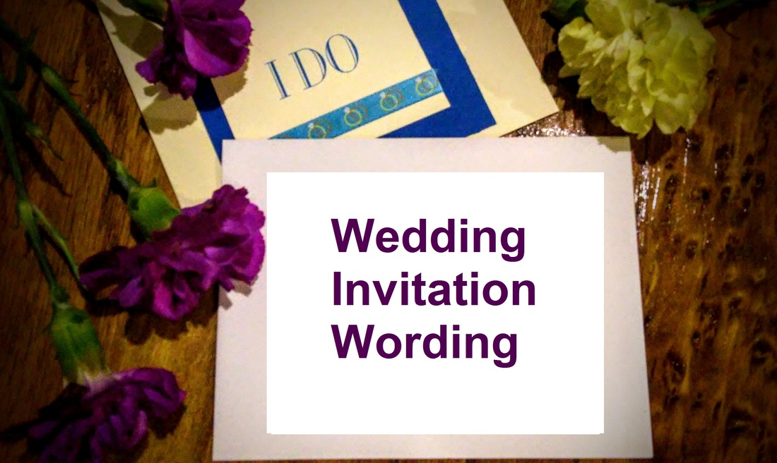 Wedding Invitation Sayings: Wording Ideas - Wishes Messages Sayings